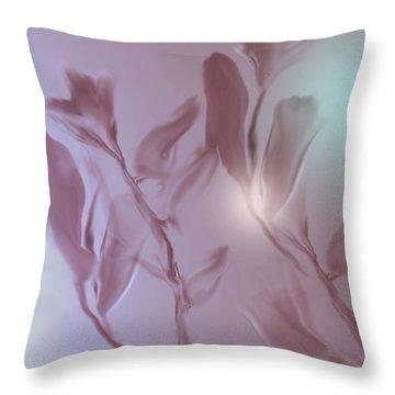 Digitized 2 Throw Pillow by John Krakora