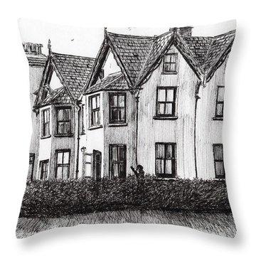 Dimbola Lodge Throw Pillow