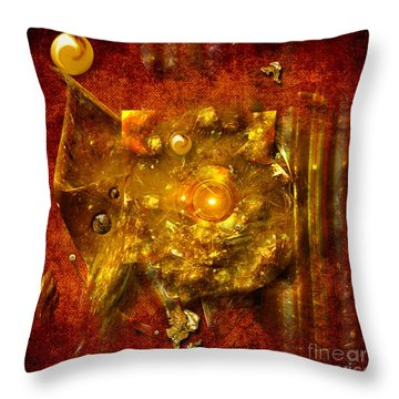 Dimension Hole Throw Pillow