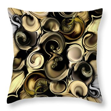 Dimension Vs Shape Throw Pillow