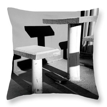 Square To Square 2009 1 Of 1 Throw Pillow