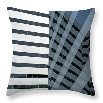 Dimensions Throw Pillow by Elvira Butler