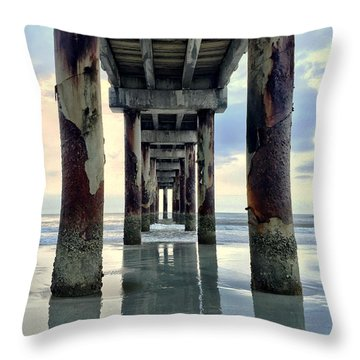 Throw Pillow featuring the photograph Dimensions by LeeAnn Kendall