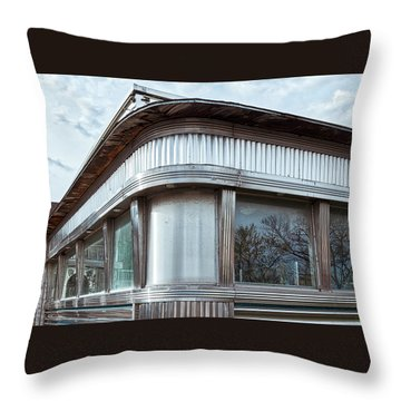 Diner Closed Throw Pillow