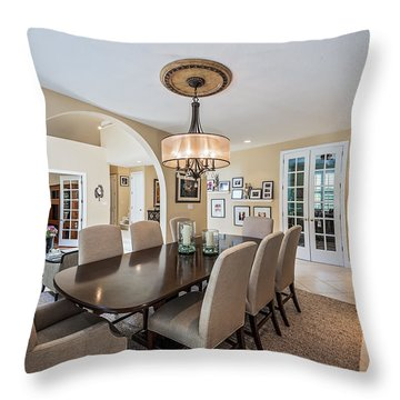 Dining Room Throw Pillow
