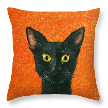 Dinner? Throw Pillow by Marna Edwards Flavell
