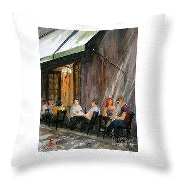 Dinning L'fresco Throw Pillow