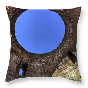 Diocletian Palace In Split, Croatia  Throw Pillow