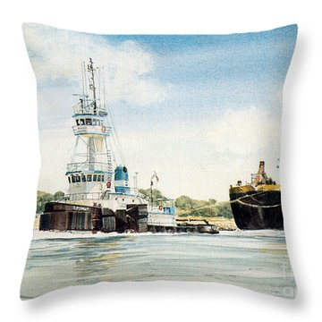 Diplomat Throw Pillow