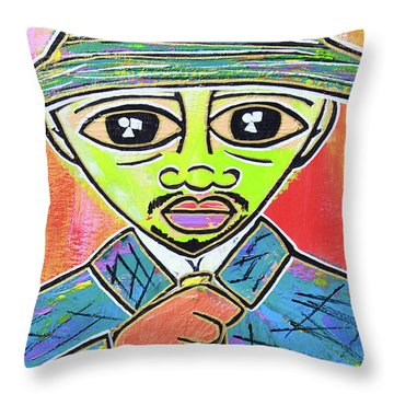 Dipped And Dapper Throw Pillow