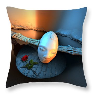Direct To Brain Throw Pillow