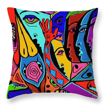 Director Of Chaos Throw Pillow