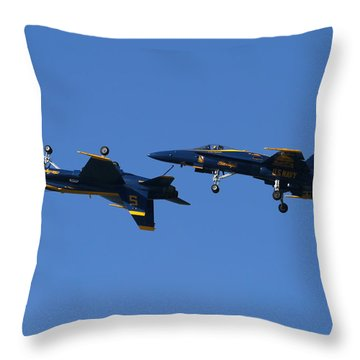 Dirty Angels Throw Pillow