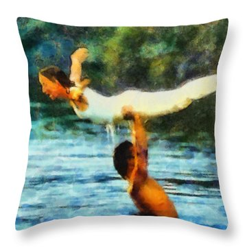 Dirty Dancing Throw Pillow