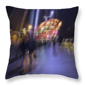 Throw Pillow featuring the photograph Disassembly by Alex Lapidus