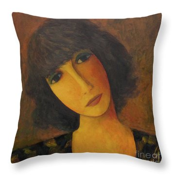 Disbelieving Throw Pillow