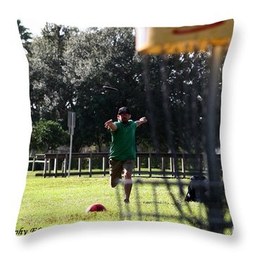 Disc 4 Throw Pillow