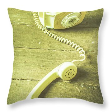 Disconnected Throw Pillow