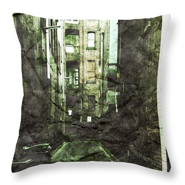 Discounted Memory Throw Pillow by Andrew Paranavitana