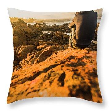 Discovering Wonderful Tasmania Throw Pillow