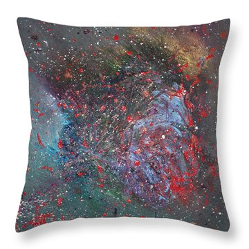 Discovery Throw Pillow