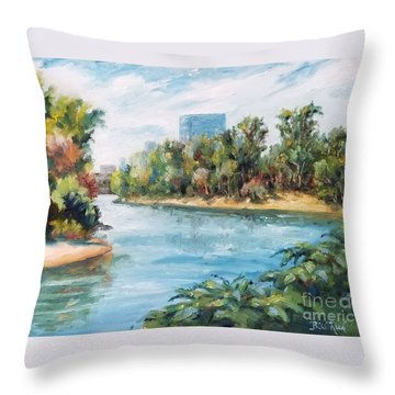 Discovery Park Throw Pillow
