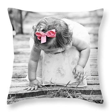 Discovery Throw Pillow by Scott Pellegrin