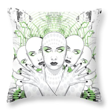 Disguise Throw Pillow