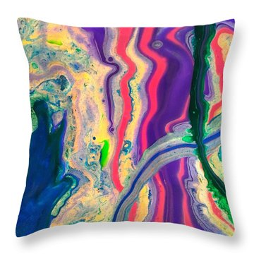 Disillusioned Throw Pillow