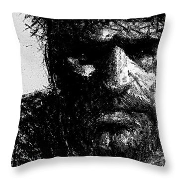 Dismay Throw Pillow