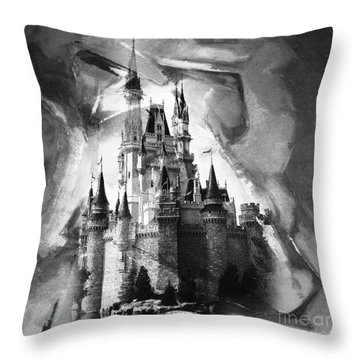 Disney World 031 Throw Pillow