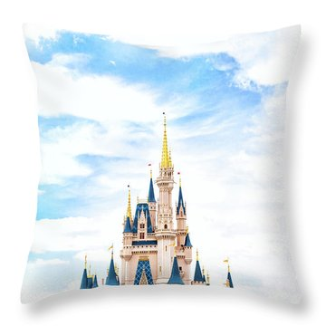 Disneyland Throw Pillow