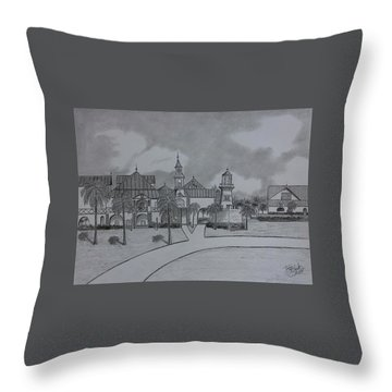 Disney's  Caribbean Beach  Throw Pillow