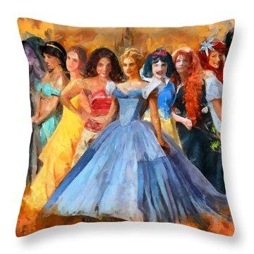 Disney's Princesses Throw Pillow