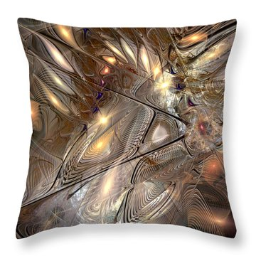 Disorderly Relativistic Interpretations Throw Pillow by Casey Kotas