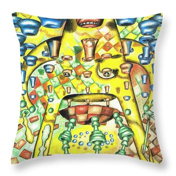 Dissecting The Opponent Throw Pillow
