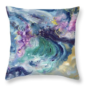 Disseminate Throw Pillow