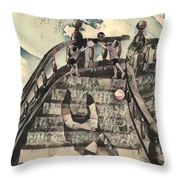 Dissociated Mother Throw Pillow