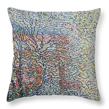 Dissolve In Rain    Throw Pillow