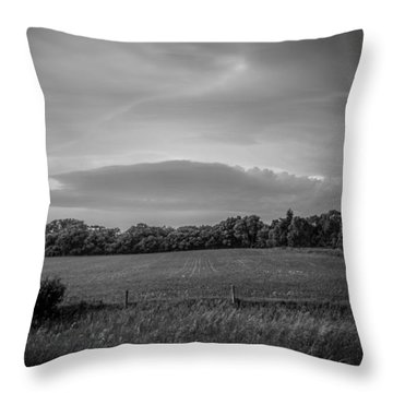 Distant Cloud Throw Pillow by Ray Congrove