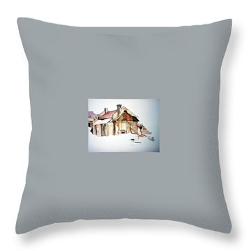 District 6 No 2 Throw Pillow by Tim Johnson