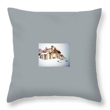 District 6 No 2 Throw Pillow