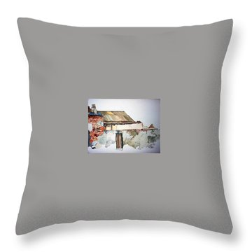 District 6 No 4 Throw Pillow by Tim Johnson