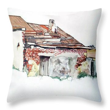 District 6 No1 Throw Pillow