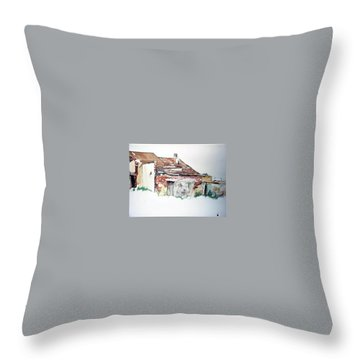 District 6 No1 Throw Pillow by Tim Johnson