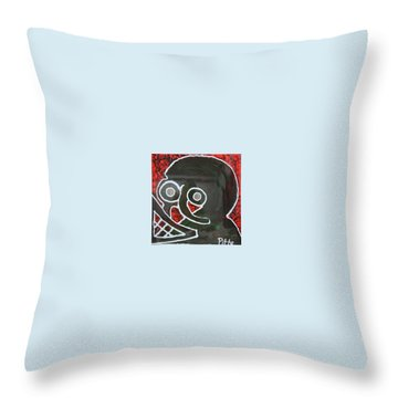 District 9 Throw Pillow by Greg Pitts