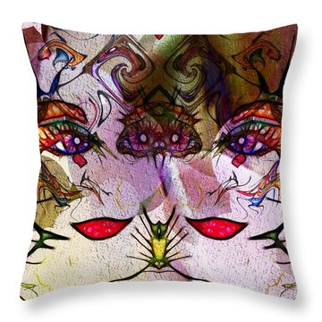 Diva Duo Throw Pillow