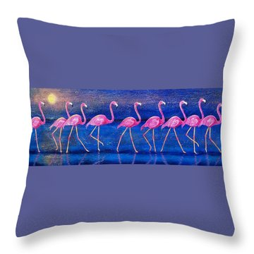 Diva Madness Throw Pillow by Susan DeLain