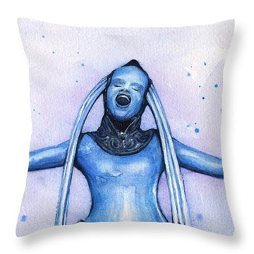 Diva Plavalaguna Fifth Element Throw Pillow