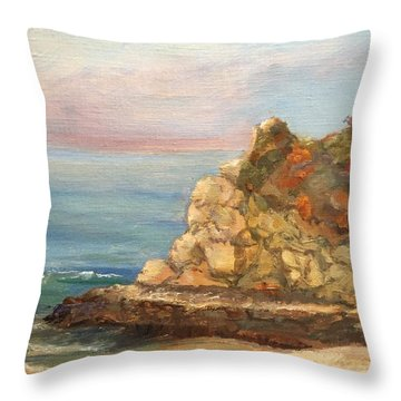 Divers Cove 1 Throw Pillow